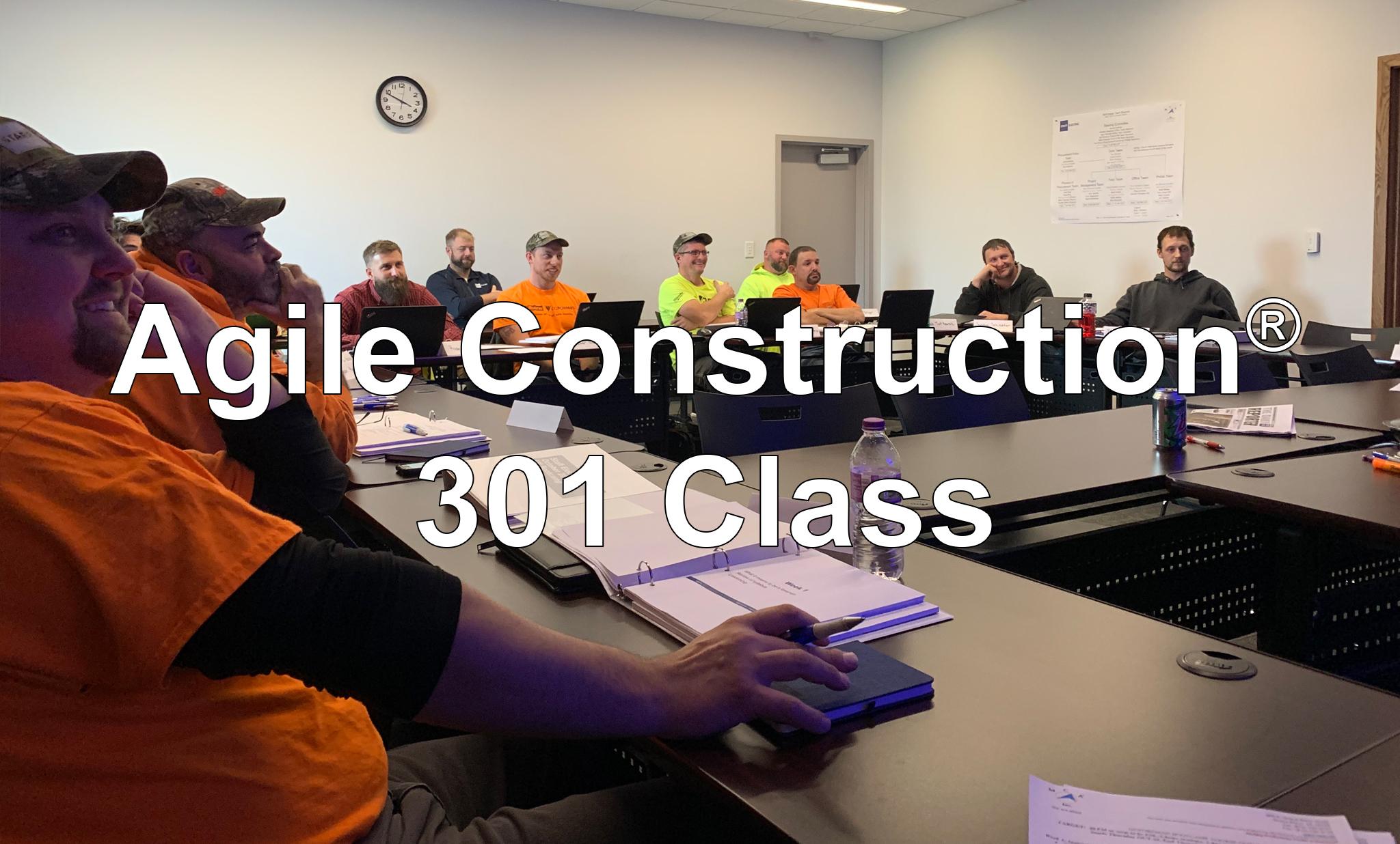 Agile Construction 301 Graphic