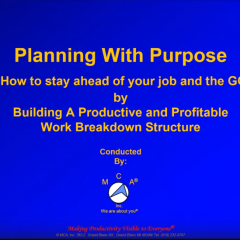 Planning With Purpose – 4 Hour Seminar